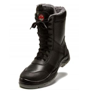 Ботинки с высоким берцем утепленные «Гепард» ПК, ПУ/НИТРИЛ