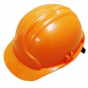 Каска защитная Лидер оранжевая