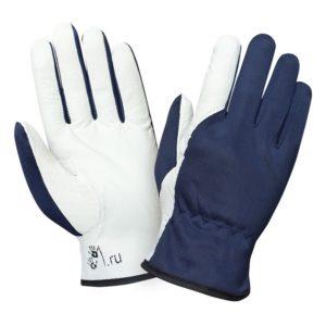 """Кожаные комбинированные перчатки """"TZ-41"""""""
