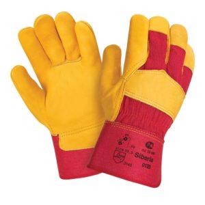 """Кожаные комбинированные перчатки """"TZ-89 Siberia"""""""