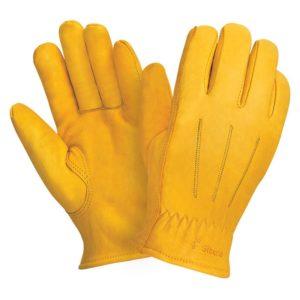 """Кожаные утепленные перчатки """"TZ-93 Siberia"""""""
