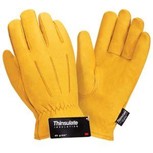 """Кожаные утепленные перчатки """"TZ-94 Siberia Thinsulate"""""""