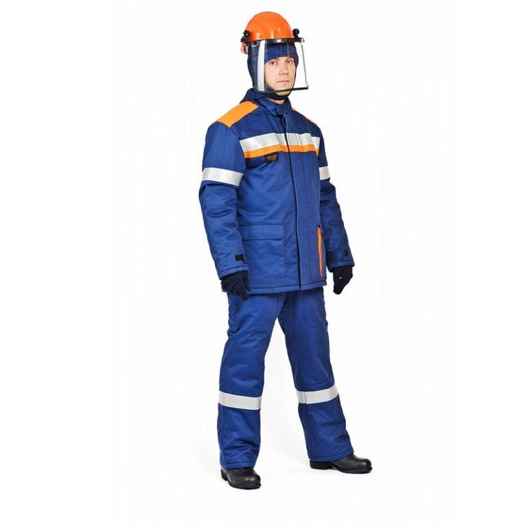 """Костюм """"Электродуга-42k"""" с брюками, подшлемником и термобельем"""