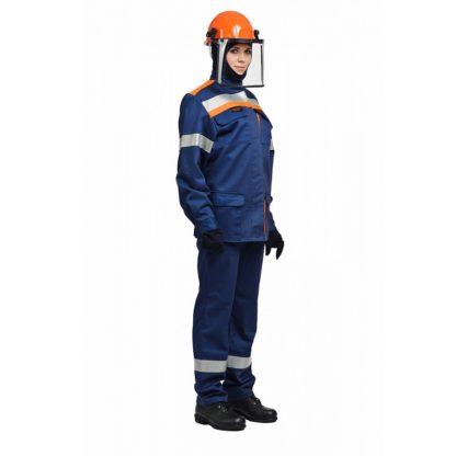 """Костюм """"Электродуга-65k"""" с брюками, подшлемником, термобельем и курткой-накидкой"""