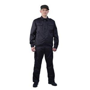 Костюм охранника мужской «Наблюдение» с брюками