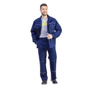 Костюм рабочий «Контракт» 100 % хлопок с брюками