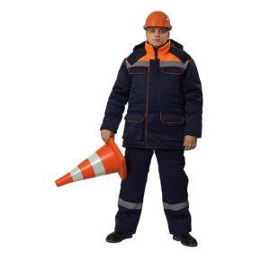 Костюм рабочий зимний «Балтимор» с полукомбинезоном