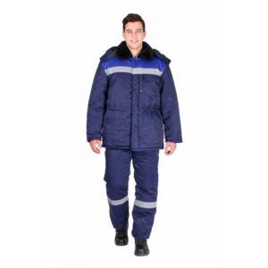 Костюм рабочий утепленный «Рабочий-Ультра» с брюками (тк. Смесовая)