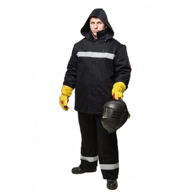 """Костюм сварщика утепленный """"WORKER"""" 100% хлопок с брюками и подстежкой"""