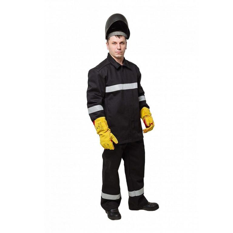 """Костюм сварщика """"WORKER"""" 100% хлопок с брюками"""