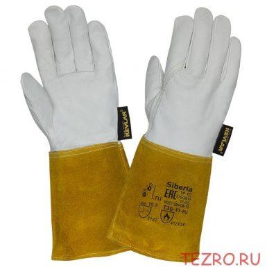 """Краги кожаные для TIG сварки """"TZ-52 Siberia"""""""