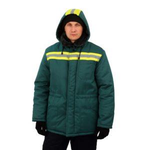 """Куртка рабочая утепленная """"Сибирь"""" с мех. воротником"""
