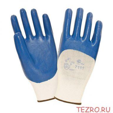 """Нитриловые перчатки с легким покрытием """"TZ-11 SafeFlex Full"""""""