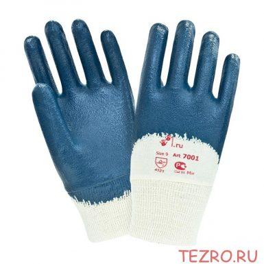 """Нитриловые перчатки с покрытием средней массы """"TZ-17"""""""