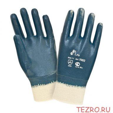 """Нитриловые перчатки с покрытием средней массы """"TZ-18"""""""