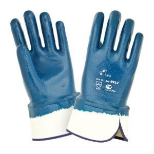 Нитриловые перчатки с тяжелым покрытием «TZ-22»