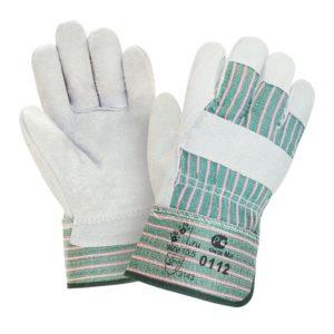 """Спилковые комбинированные перчатки """"TZ-33"""""""
