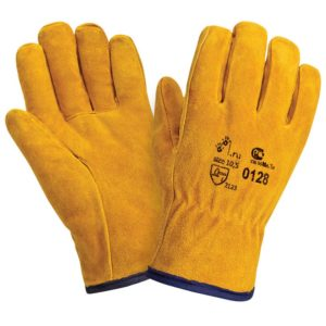"""Спилковые утепленные перчатки """"TZ-82 Siberia"""""""