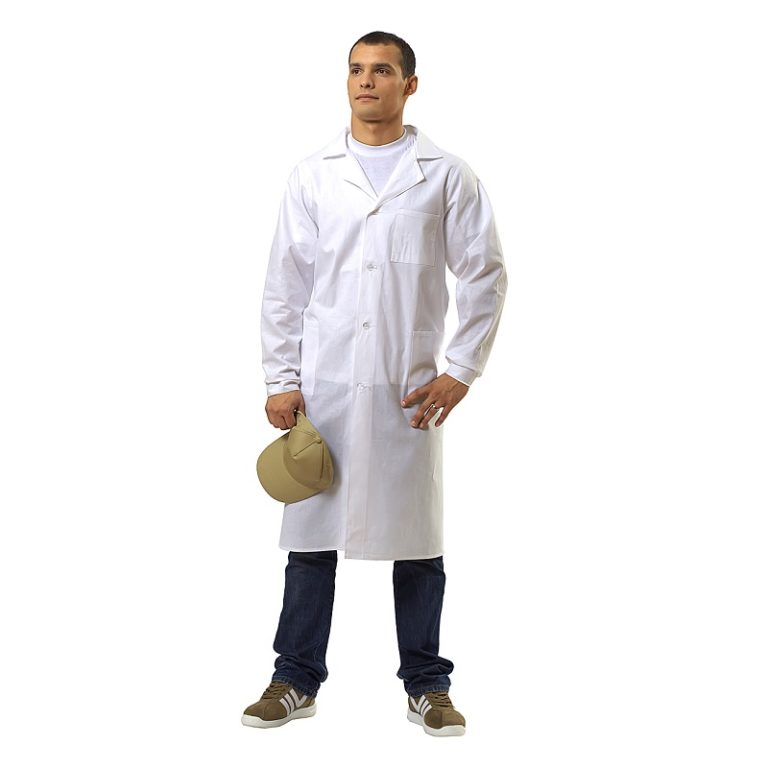 Халат рабочий мужской «Модель-15» 100% хлопок , тк. Бязь 145 гр/м