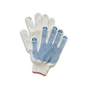 Перчатки хб с ПВХ 6 нитей 10 класс