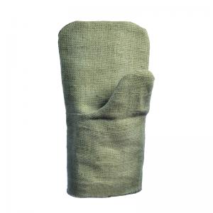 Брезентовые рукавицы с двойным наладонником