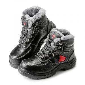 Ботинки для ИТР «Эталон» ПУ/Нитрил с КП (нат. мех)
