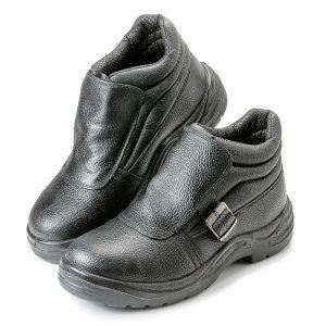 Ботинки для сварщика «Строитель» ПУ/НИТРИЛ, МП