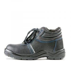 Ботинки «Строитель» ПУ/Нитрил с МП (иск. мех)