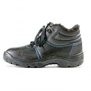Ботинки «Строитель» ПУ (иск. мех)