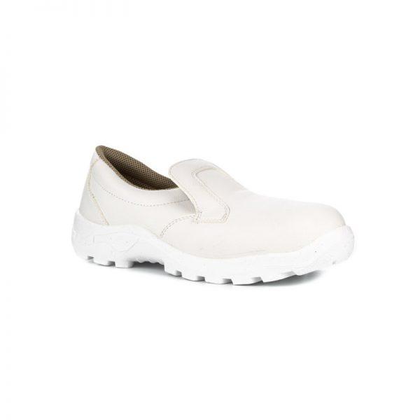 Ботинки белые рабочие «Пищевик» ПУ с МП