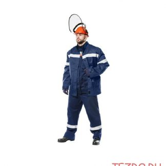 Костюм утепленный «Электродуга-51k» с брюками, термобельем, курткой-накидкой