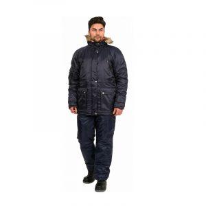 Куртка рабочая зимняя «Аляска» (тк. Оксфорд)