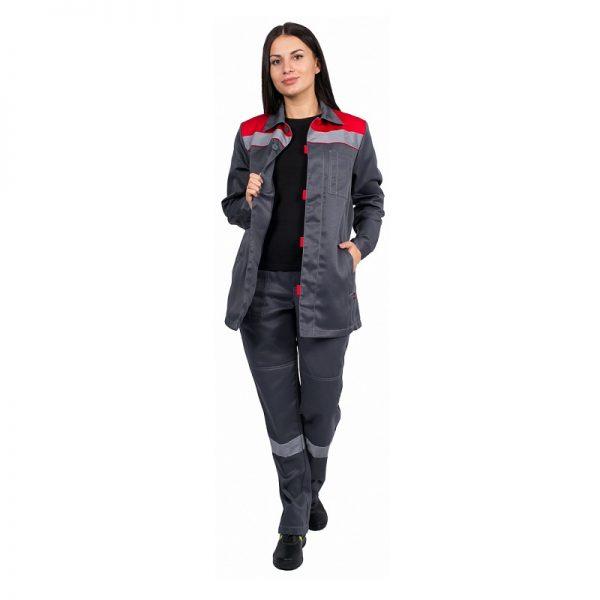 Костюм рабочий женский «Лето» СОП с брюками