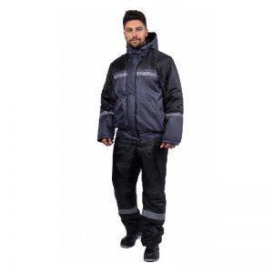 Куртка укороченная «Стандарт» (тк. Оксфорд-210) утепленная