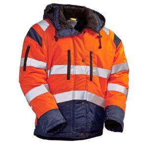 Куртка сигнальная «ИТР-Люкс» 3 класс утепленная