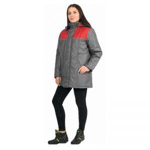 Куртка женская утепленная «Снежинка» (тк.Дюспо)