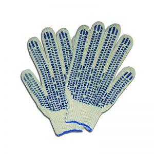 Перчатки 5 нитей 7,5-8 класс протектор