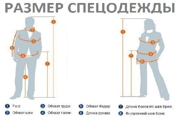 Размер спецодежды