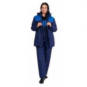 Куртка женская утепленная «Снежинка» (тк.Таслан)